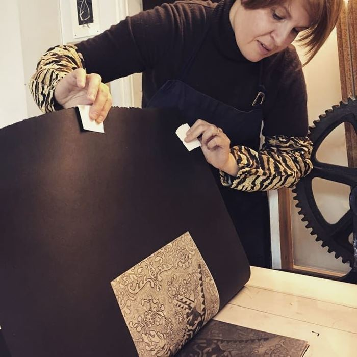 Giulia Zaniol at work